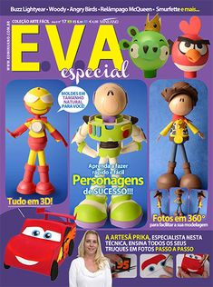 Artesanato - EVA : COL ARTE FACIL EVA ESPECIAL 017 - Editora Minuano