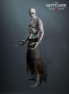Elder Unseen, The Witcher 3, Wild Hunt- Blood and Wine Expansion, Sebastian Bakala on ArtStation at https://www.artstation.com/artwork/xNBRO