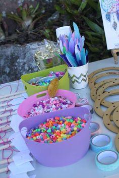 Gypsy/Boho Dreamcatcher Birthday Party Ideas | Photo 2 of 97 | Catch My Party