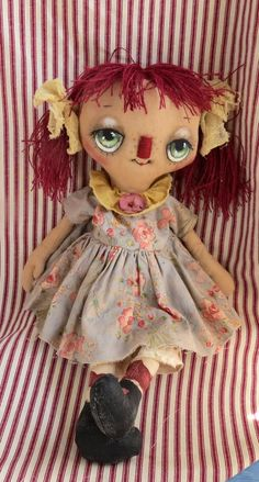 CWI Gifts Christmas Annie Doll 22 Multicolor