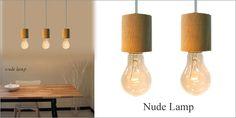 1灯ペンダントライト【Nude】デザイナーズ天然木北欧シンプル Scandinavian pendant light ¥6510yen 〆04月01日