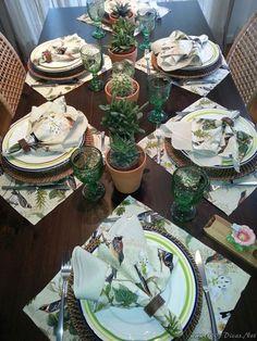 Decoração De Mesa#Table Decor#Mesa Para Almoço (1)