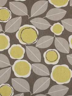 Check out this fabric I found, Robert Allen Modernista Citrine. Brand: Robert Allen Fabric ID: Floral Upholstery Fabric, Floral Print Fabric, Retro Fabric, Drapery Fabric, Nursery Fabric, Baby Fabric, Home Decor Fabric, Fabric Crafts, Custom Made Curtains