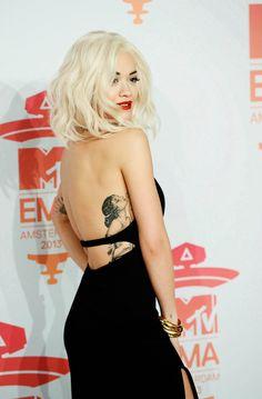 Rita Ora's tattoo...