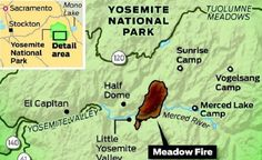 Yosemite Wildfire Has Destroyed 5000 Acres Of Forest. What About The Bears? #Bears #Yosemite #Wildfire #Bushfire http://www.inquisitr.com/1473065/crews-fighting-yosemite-wildfire-have-another-threat-to-deal-with-bears/