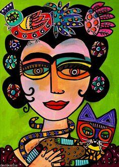 Frida Kahlo-Sandra Silberzweig