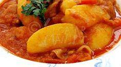 Reteta de papricas de cartofi Romanian Food, Romanian Recipes, Vegan Recipes, Vegan Meals, Thai Red Curry, Cooking, Ethnic Recipes, Blog, Pork