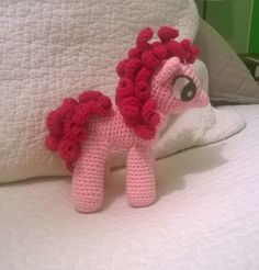 Virkaten: Virkattu My Little Pony ~ Pinkie Pie