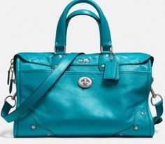 COACH RHYDER SATCHEL - my current obsession #COACH