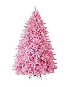 4 Ft. Powder Pink Christmas Tree - Unlit - http://www.christmasshack.com/christmas-trees/pink-christmas-trees/4-ft-powder-pink-christmas-tree-unlit/