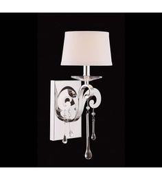 Savoy House Niva 1 Light Sconce in Polished Chrome 9-4246-1-11 #lightingnewyork #lny #lighting