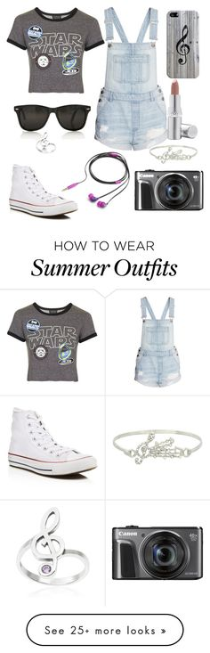 """Summer outfit."" by gracenerada on Polyvore featuring Casetify, Topshop, Converse, Nicole Miller, La Prairie and Journee Collection"