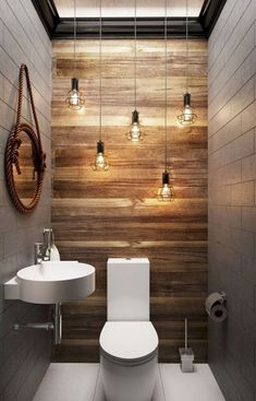 63 Cool Farmhouse Bathroom Makeover Design Ideas