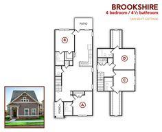 4 bedroom, 4.5 bath Brookshire
