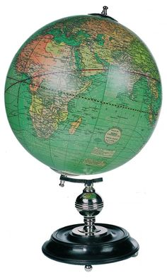 Authentic Models Globes Webber Costello Globe - This globes gives a room character and a striking splash of colour