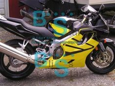 Yellow INJECTION Fairing  Tank Cover Fit HONDA CBR600F4i 05 06 2004-2007 32 A3