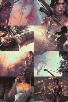 Tomb Raider - Ideas for Self Pomotion (Print Based)
