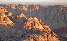 Mount Sinai in Egypt is where Moses is said to have received the 10 Commandments. (Gelia / Dreamstime.com)