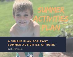 Many are looking for easy activity ideas for kids this summer. Here's our plan for 5 days of easy summer activities to do at home. Water Activities, Activities To Do, Summer Activities, Picture Scavenger Hunts, Water Experiments, Disney Movies To Watch, Boys Life, Activity Ideas, Business For Kids