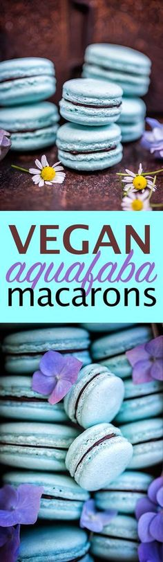 Macaron perfection - the Vegan way! These macarons are made with aquafaba and filled with avocado chocolate ganache | Supergolden Bakes
