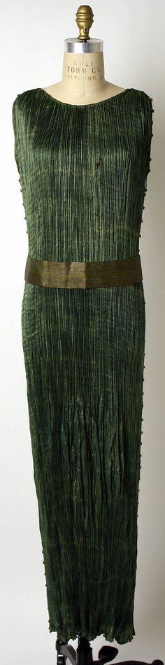 Dress, Evening Mariano Fortuny