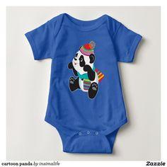cartoon panda t shirt