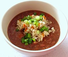 Amy's Nutritarian Kitchen: Vegan Red Beans and Rice