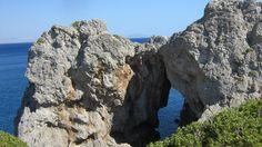 Coast of Agios Pavlos, Crete, Greece Crete Greece, Mount Rushmore, Coast, Mountains, Water, Places, Travel, Outdoor, Gripe Water