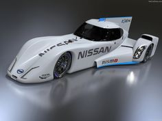 """Nissan unveils the NISMO ZEOD RC which is to start the 24 Hours of Le Mans on electric power only. Then run the remainder of the race hybrid. ZEOD stands for """"zero emissions on demand"""" // Nissan Nismo, New Nissan, Le Mans, Nissan Electric, Delta Wing, Stars News, Automotive News, Cheap Cars, Fast Cars"""