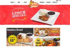 "Pagina principal de ""La Granja Restaurant"""