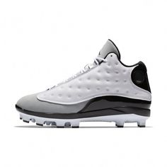 newest bd472 fe867 Jordan XIII Retro MCS Men s Baseball Cleat Size 13 (White)  Golffashion