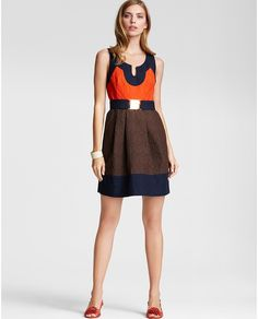 Milly Colorblocked dress in my closet soon :)