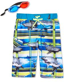 Baby & Toddler Clothing Nwt Gymboree Swim Shop Size 3t Aqua Blue Hammerhead Shark Board Shorts Elegant In Style Boys' Clothing (newborn-5t)