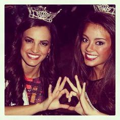 Miss Louisiana & Miss Kentucky, both Sigma Kappas!