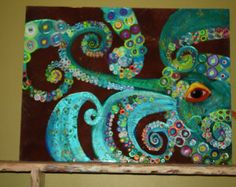Mussels II Original Painting by CoastToCottage on Etsy