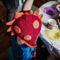 Home Page - Cris Crochet Shop Best Christmas Presents, Christmas Fun, Crochet Character Hats, Crochet Dragon, Red Dragon, Kids Hats, Hat Making, Enchanted, Gifts For Kids