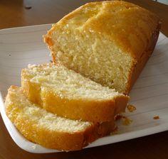 bolo simples de limão siciliano
