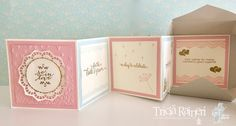 The Speckled Sparrow: CI05 Wedding Card In A Box