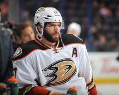 Ryan Kesler #17 of the Anaheim Ducks