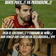 Los mejores memes de Shakira en el Mundial de Brasil 2014