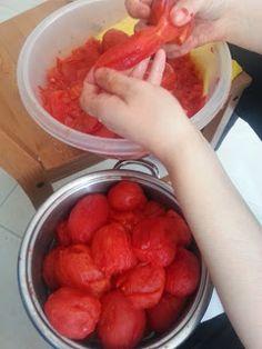 Gazoz Şişesine Domates Sosu: Evde Domates sosu veya konservesi yapımı Tart, Watermelon, Fruit, Cooking, Food, Cake, Meal, Pie, Koken