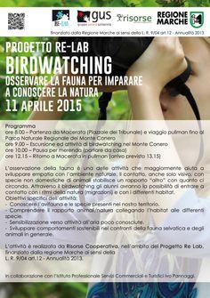 Attività Risorse Cooperativa: birdwatching