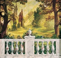 painted wall mural: Re-Create this mural with Deco Haven Artistry, Murals  Decorative Painting!