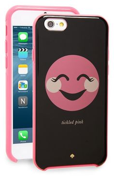 kate spade new york 'tickled pink' iPhone 6 case available at #Nordstrom