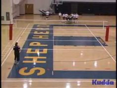 Volleyball Serving Drill