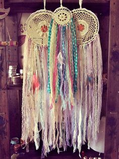 Hey, I found this really awesome Etsy listing at https://www.etsy.com/listing/398550015/gypsy-colorful-dreamcatchers-set