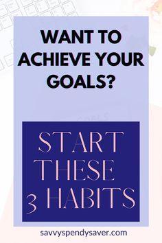 Make it easy on yourself to achieve your goals by practicing these three habits. set your goals|how to set your goals| set your goals and crush them|set your goals in silence|reach your goals|how to reach your goals|how to work on your goals|how to accomplish goals|how to accomplish goals tips|how to accomplish daily goals Set Your Goals, Achieve Your Goals, Get Your Life, Organize Your Life, Succesful People, Habits Of Successful People, Daily Goals, Personal Goals, Time Management Tips