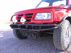 Geo+Tracker+Front+Bumper   Hi, here are a couple of pics of my front and rear bumpers with ...