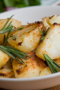 Roasted Potatoes with Rosemary and Sea Salt