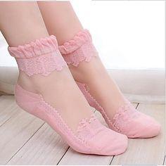 calcetines de encaje perspectiva de las mujeres - USD $ 4.19